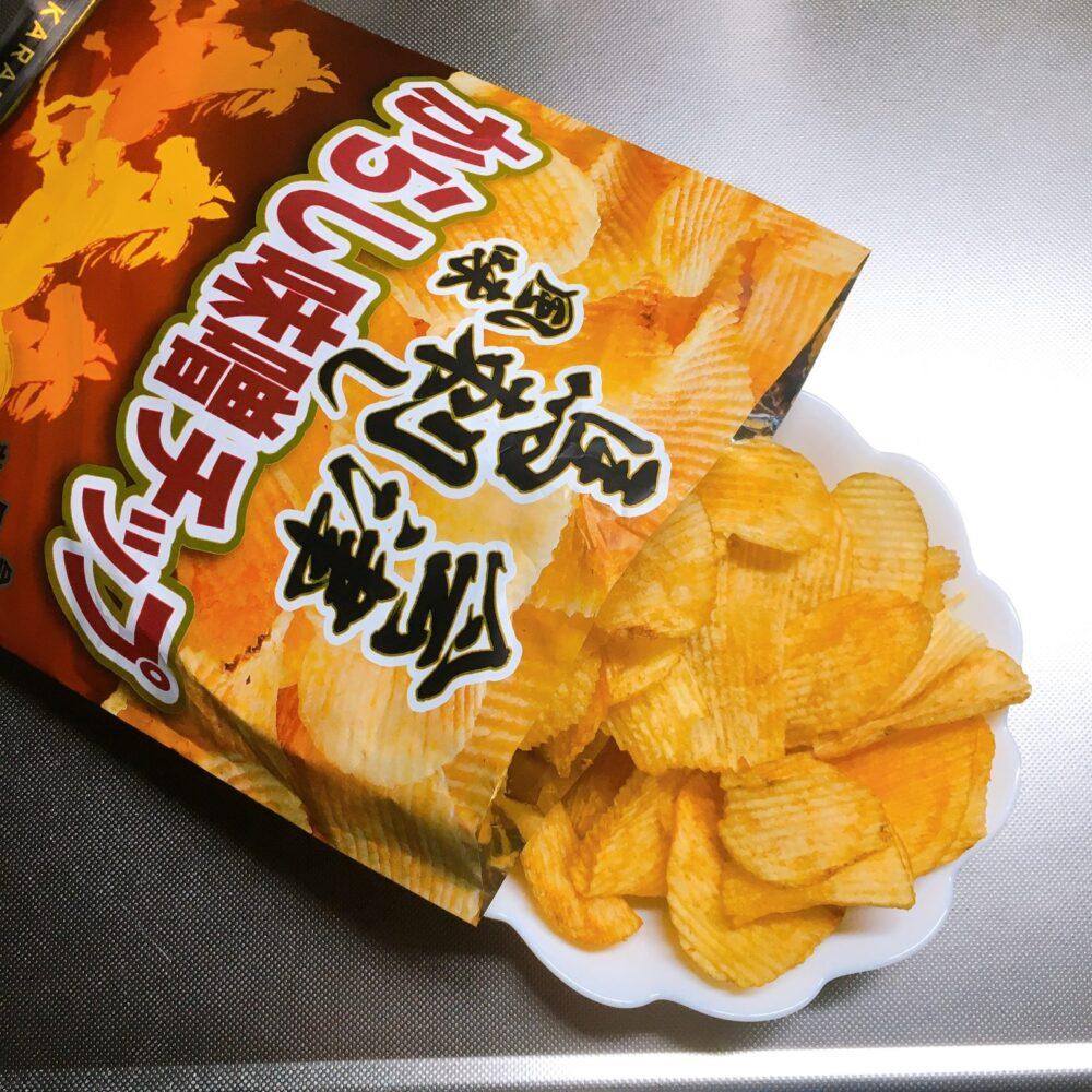 会津馬刺し風味からし味噌チップ