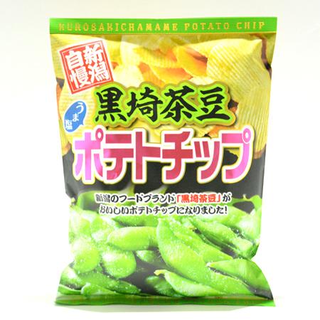 黒埼茶豆うま塩ポテトチップ