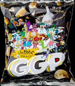 GGP ジャガめぐポテトチップス 田子ガーリック